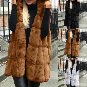 Dámská luxusní kožešinová vesta Virginia