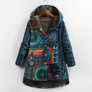 Dámský luxusní podzimní kabátek Samina