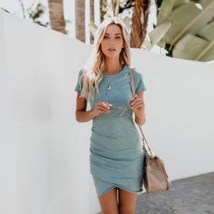 Dámské elegantní krátké šaty Bianca