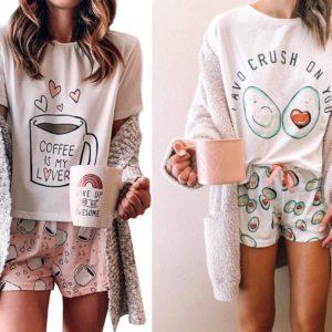 Dámské roztomilé pyžamo Kendra