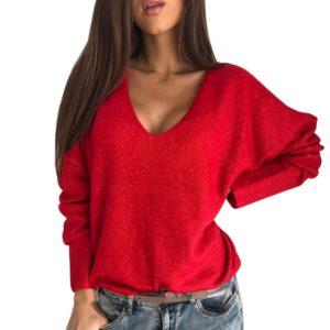 Dámský sexy svetřík s výstřihem Willlow - kolekce 2020