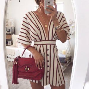 Dámské luxusní košilové šaty Monique