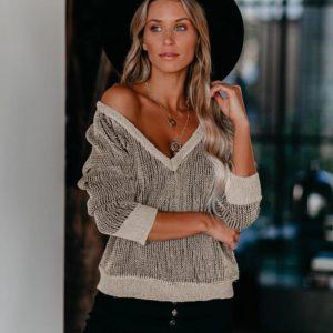 Dámský elegantní svetr Lucia