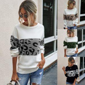 Dámský módní svetřík se vzorem Alice