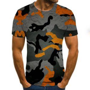 Pánské stylové kreativní triko 3D