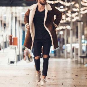 Pánský luxusní kabát Derel
