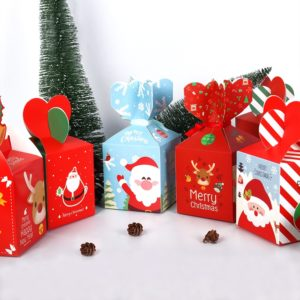 Vánoční dárková krabička papírová