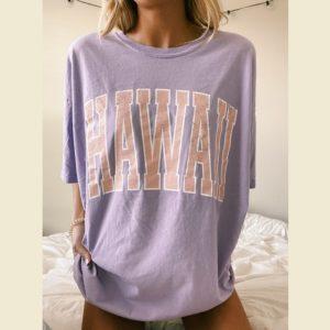 Dámské dlouhé tričko Hawaii