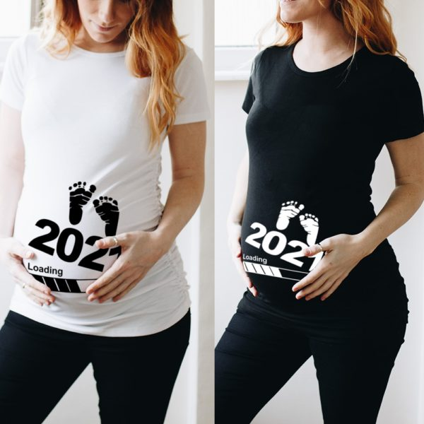 Dámské tričko pro těhotné Ariella