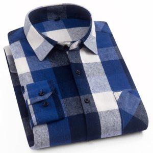 Pánská moderní kostkovaná košile Jack