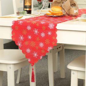 Vánoční běhoun na stůl Adris
