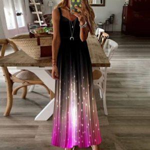 Dámské luxusní dlouhé šaty Linda
