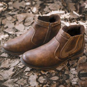 Pánské luxusní kožené podzimní boty Farrell