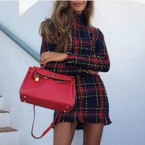 Dámské luxusní podzimní šaty Nala
