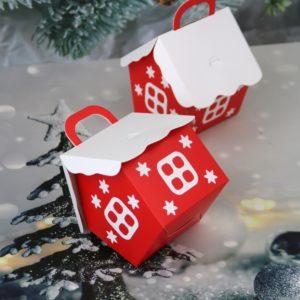 Vánoční dárkové krabičky - 10 Ks