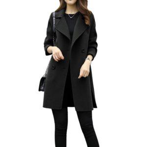 Dámský elegantní kabát Hallam