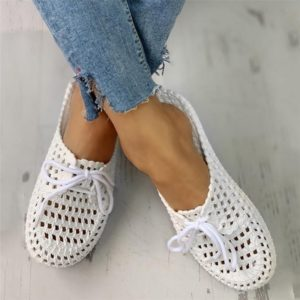 Women's Sandals 2020 Summer Handmade Ladies Shoes Floral Sandals Flats Retro Style Shoes Woman Slippers PU Leather Sandals