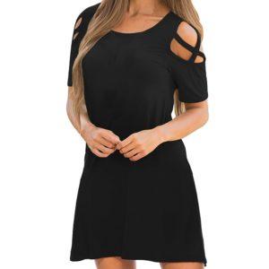 Dámské luxusní krátké šaty Sandra