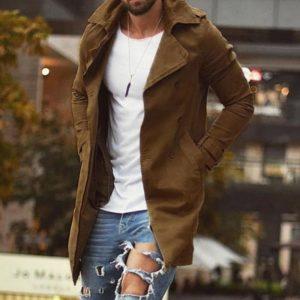 Pánský podzimní ležérní kabát Dylan