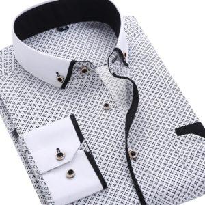 Pánská stylová slim fit košile