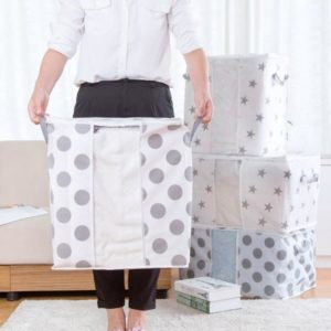 Úložný stylový box na textil Leal