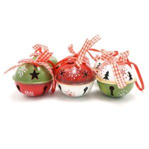 Luxusní vánoční ozdoby - 6 Ks