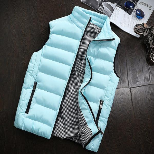 Pánská luxusní zimní vesta Alex