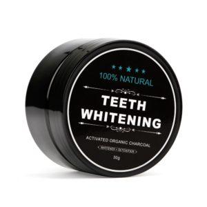 Přírodní bělící prášek na zuby