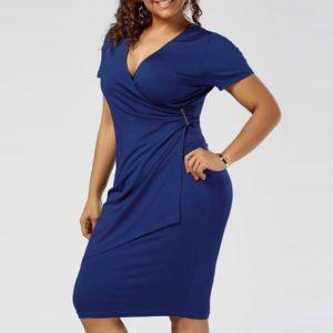 Dámské stylové plus size šaty Asha