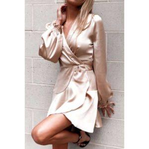 Dámské elegantní saténové šaty Anderson