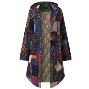 Dámský moderní podzimní kabát Sanah