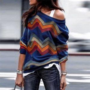 Dámský moderní podzimní svetr Christy