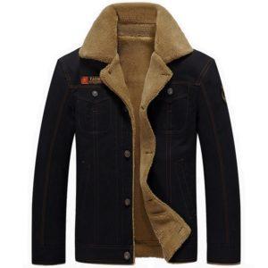 Stylová pánská bunda s kožíškem Norris
