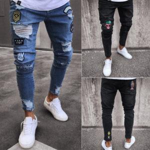 Pánské moderní kalhoty