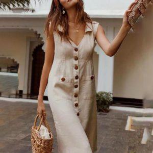 Dámské dlouhé letní šaty Maxima