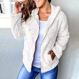 Dámská stylová podzimní kožešinová bunda Libbie