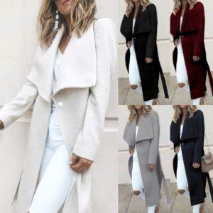 Dámský elegantní kabát Alanis