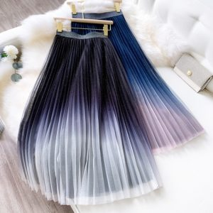 Dámská luxusní dlouhá sukně Mira