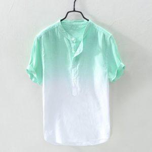Pánská ležérní lněná košile Peters