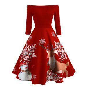 Dámské vánoční luxusní šaty Pixie