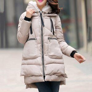 Zimní moderní kabát Anaiya