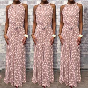 Dámské elegantní dlouhé šaty Esseta