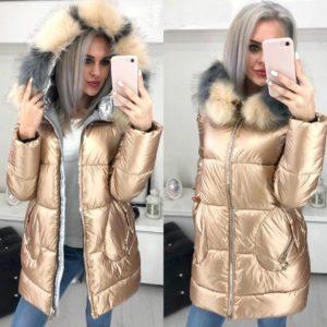 Dámská luxusní zimní bunda Violet