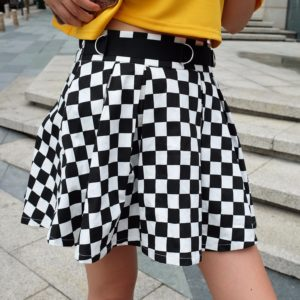 Dámská kostičkovaná sukně Jenny