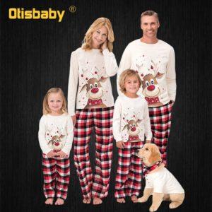 Vánoční pyžamo pro celou rodinu Rayner