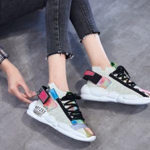 Dámské luxusní sneakers boty Vulcanized