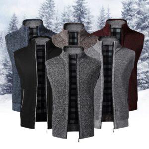 Pánská zimní stylová vesta Hunter