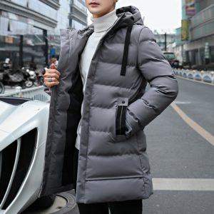 Pánská zimní dlouhá bunda Lillia