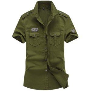 Pánská moderní Army košile