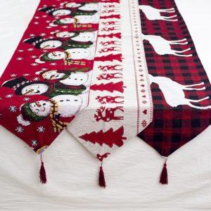 Vánoční dekorace na stůl Sandra